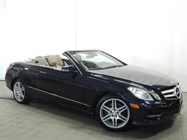 Certified pre owned 2013 mercedes benz e class e350 for 2013 mercedes benz e350 cabriolet